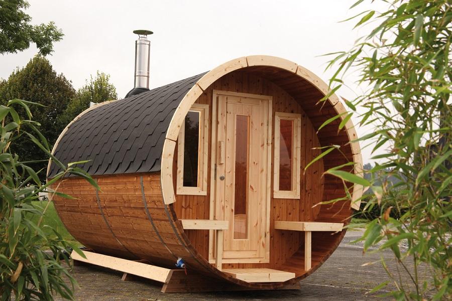 wolff finnhaus saunafass 400 de luxe thermoholz 310 690. Black Bedroom Furniture Sets. Home Design Ideas