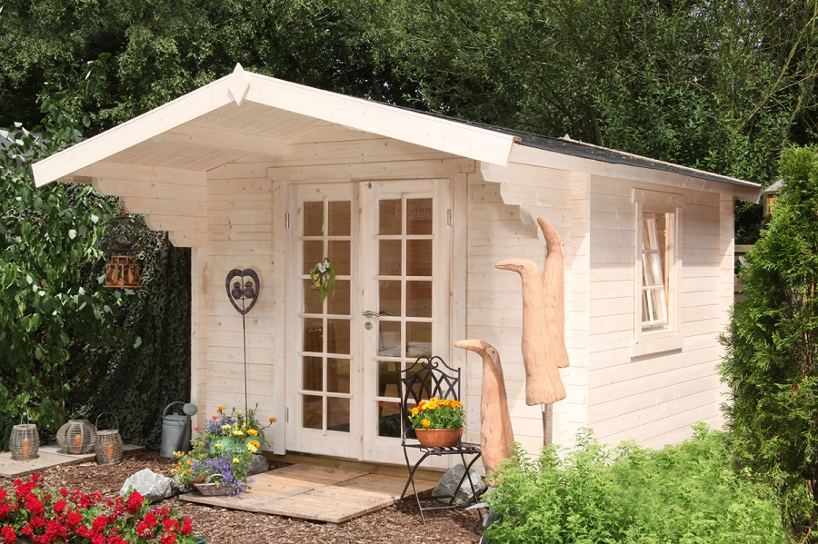 wolff gartenhaus bergen 58 b iso 558 021. Black Bedroom Furniture Sets. Home Design Ideas