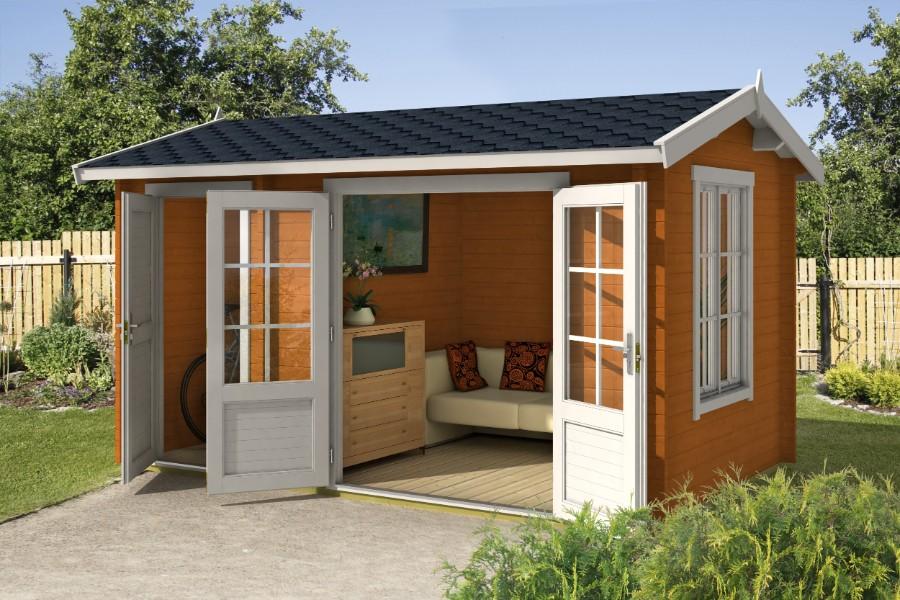 lasita maja gartenhaus wrexham 1 iso 4416602. Black Bedroom Furniture Sets. Home Design Ideas