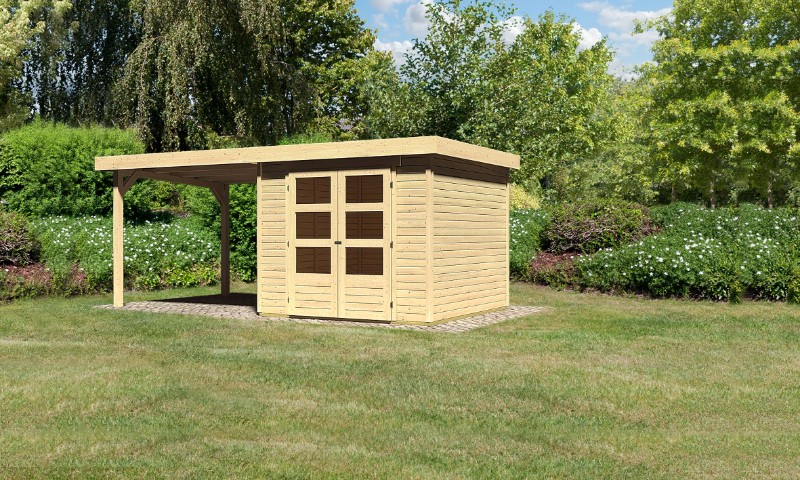 gartenhaus askola 3 5 mit sd. Black Bedroom Furniture Sets. Home Design Ideas