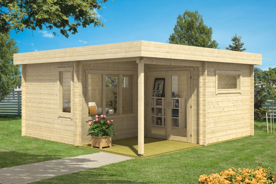 gartenhaus indigo 44 b. Black Bedroom Furniture Sets. Home Design Ideas