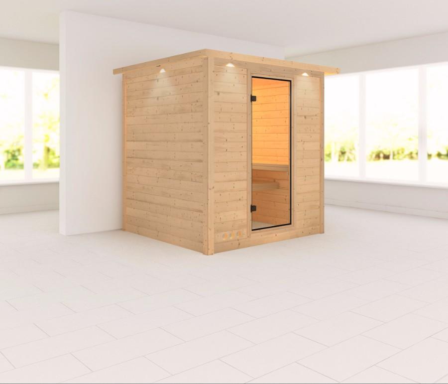 karibu sauna innenkabine mojave. Black Bedroom Furniture Sets. Home Design Ideas