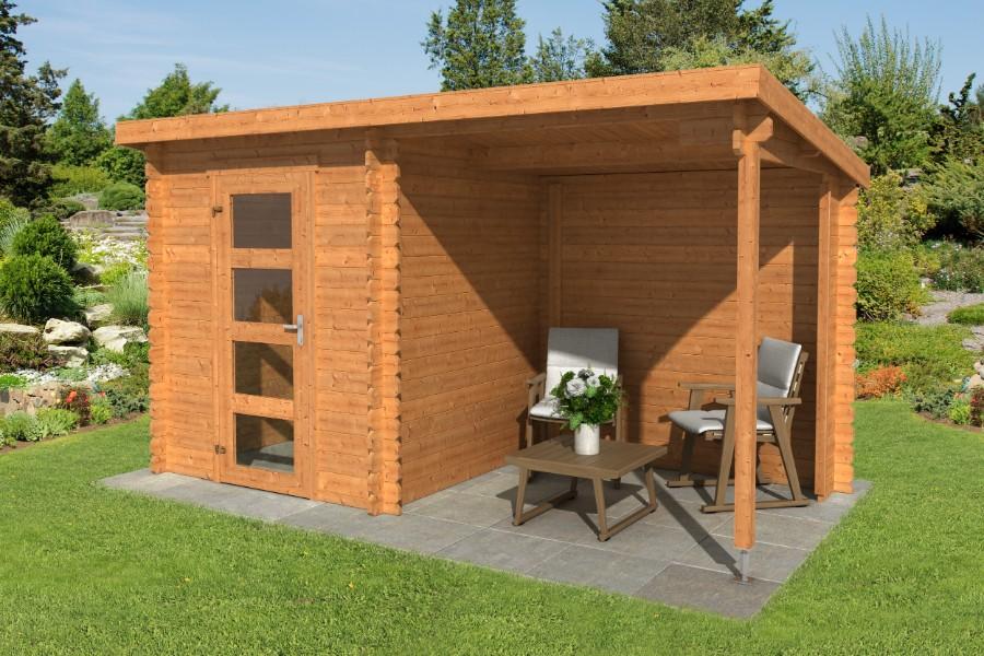lasita maja gartenhaus jelle plus 1002536. Black Bedroom Furniture Sets. Home Design Ideas