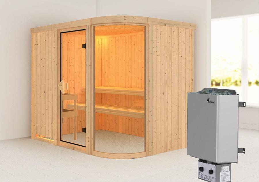 karibu sauna innenkabine parima. Black Bedroom Furniture Sets. Home Design Ideas