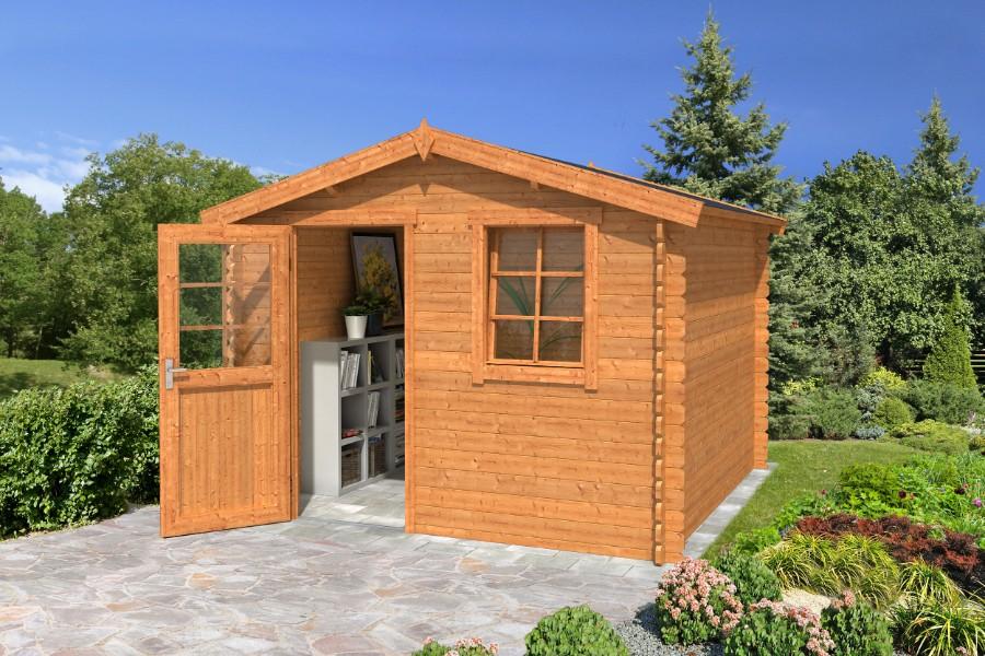 lasita maja gartenhaus nina 172 1002525. Black Bedroom Furniture Sets. Home Design Ideas