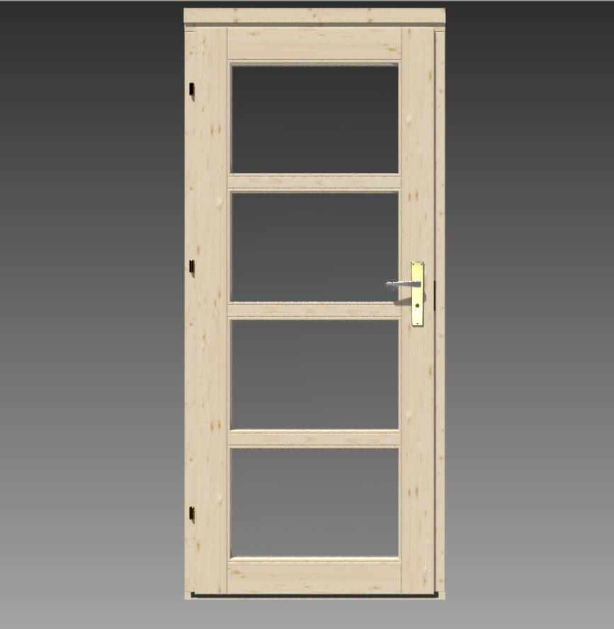flachdach gartenhaus modell modern a 122201 2. Black Bedroom Furniture Sets. Home Design Ideas