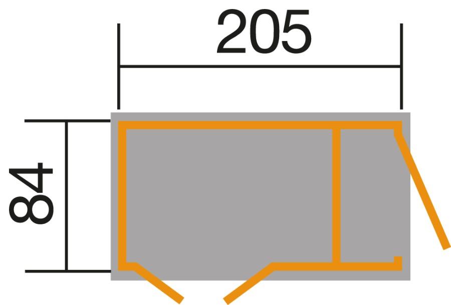 weka multibox mit regalsystem 21 mm. Black Bedroom Furniture Sets. Home Design Ideas