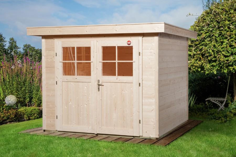 weka gartenhaus 227 gr 2 21 mm. Black Bedroom Furniture Sets. Home Design Ideas