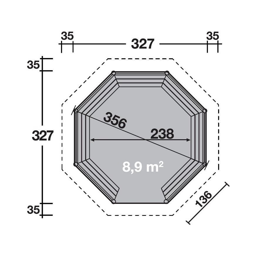wolff gartenpavillon kreta 8 675 170. Black Bedroom Furniture Sets. Home Design Ideas