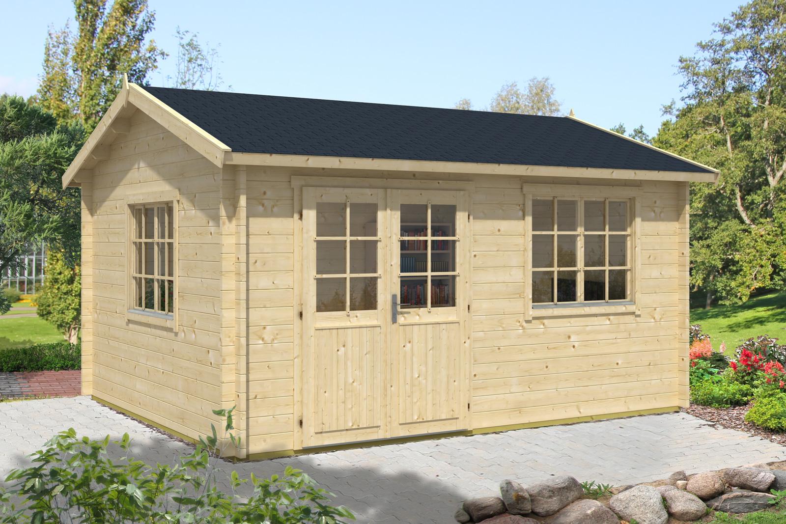 gartenhaus modell collin 44 premium. Black Bedroom Furniture Sets. Home Design Ideas