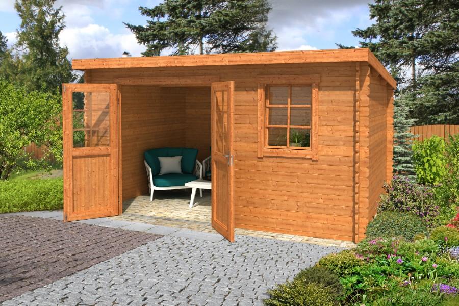 lasita maja gartenhaus amira 230 1002521. Black Bedroom Furniture Sets. Home Design Ideas