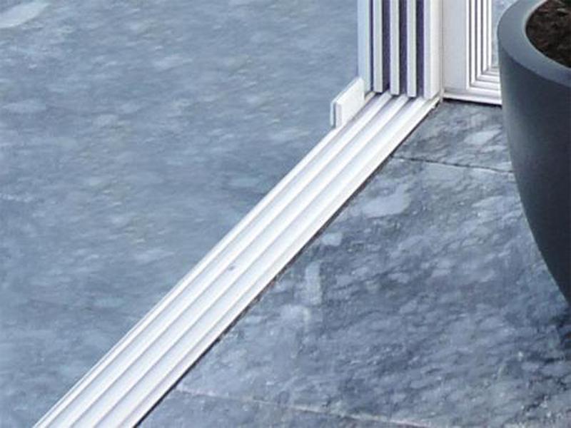 glasschiebewand 400 cm. Black Bedroom Furniture Sets. Home Design Ideas