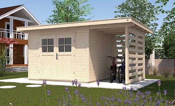 weka gartenhaus 179 a gr 3 28 mm. Black Bedroom Furniture Sets. Home Design Ideas