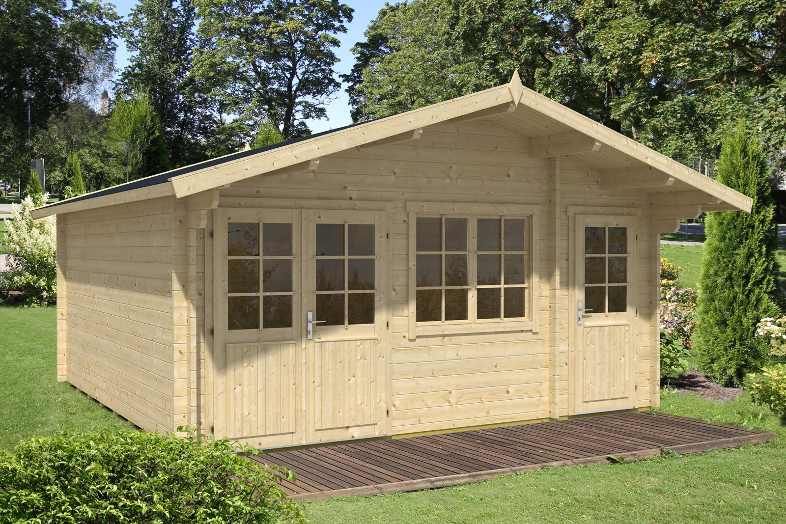 gartenhaus modell nevis 44 iso gartenhaus modell nevis 44 iso. Black Bedroom Furniture Sets. Home Design Ideas