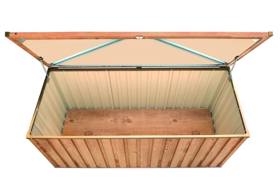 metall ger tebox 170x70 holz dekor eiche. Black Bedroom Furniture Sets. Home Design Ideas
