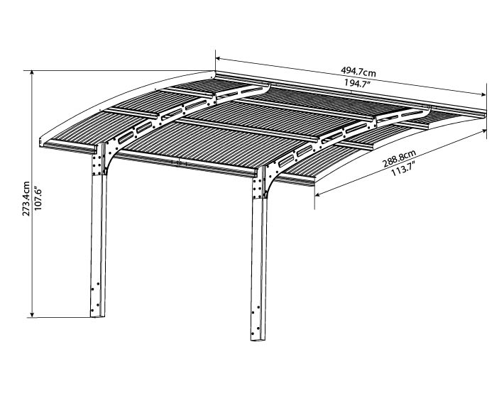 terrando design carport goodview. Black Bedroom Furniture Sets. Home Design Ideas