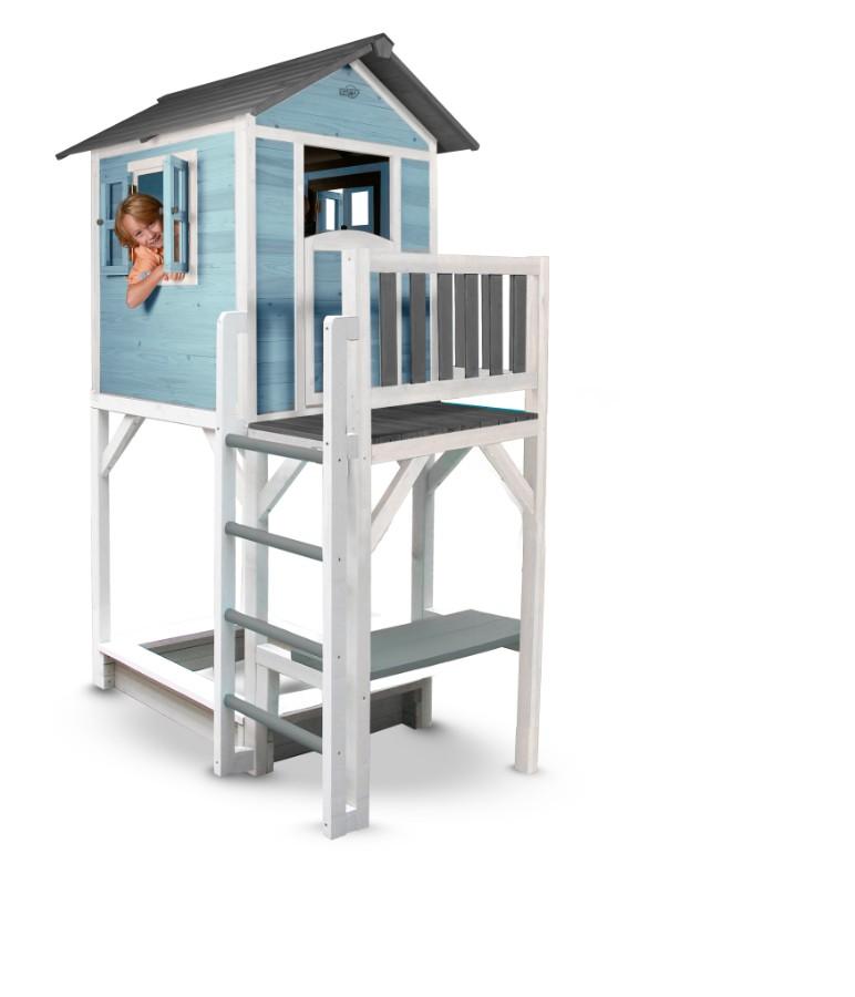 spielhaus lodge xxl mit sandkasten und tisch a z. Black Bedroom Furniture Sets. Home Design Ideas