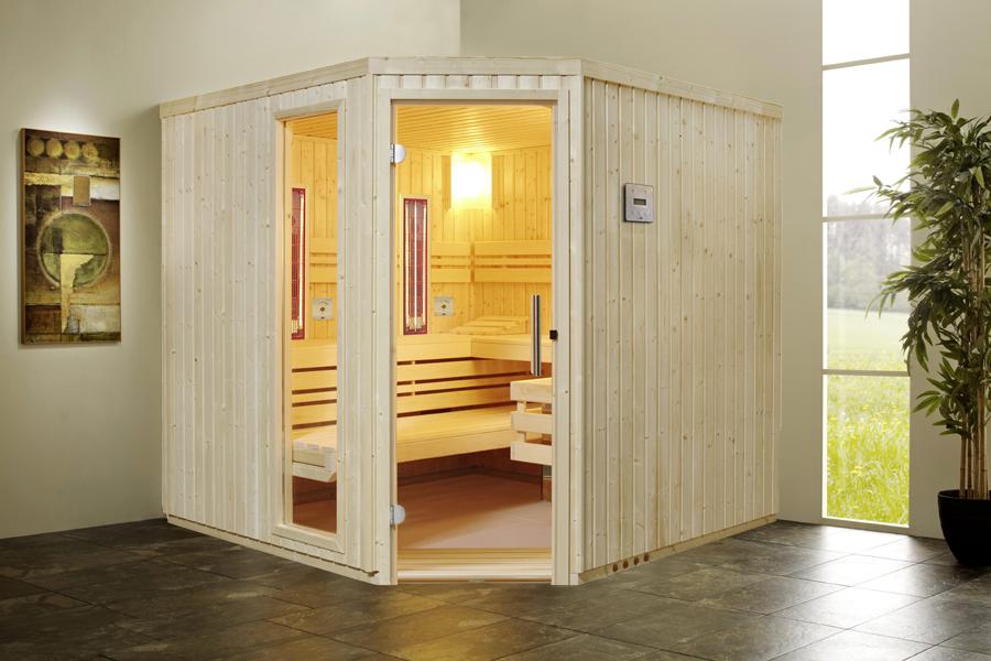 infraworld sauna innenkabine safir complete 391032. Black Bedroom Furniture Sets. Home Design Ideas