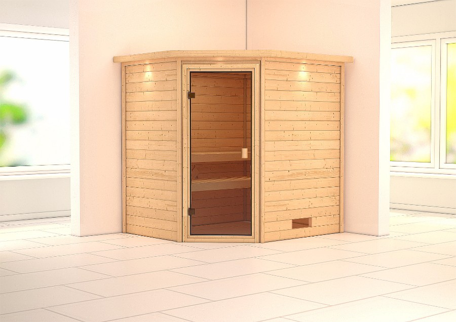 karibu sauna innenkabine elia. Black Bedroom Furniture Sets. Home Design Ideas