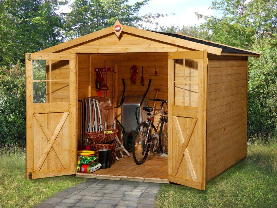 weka gartenhaus 316 gr 3. Black Bedroom Furniture Sets. Home Design Ideas