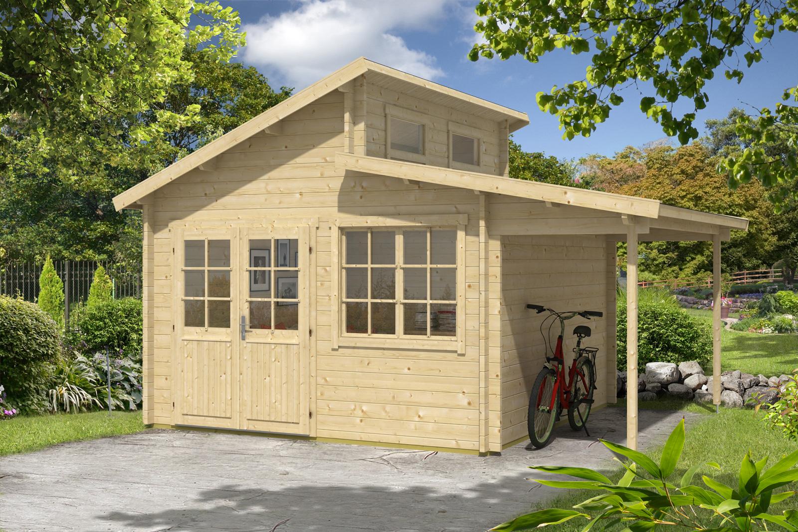 gartenhaus bristol 44. Black Bedroom Furniture Sets. Home Design Ideas