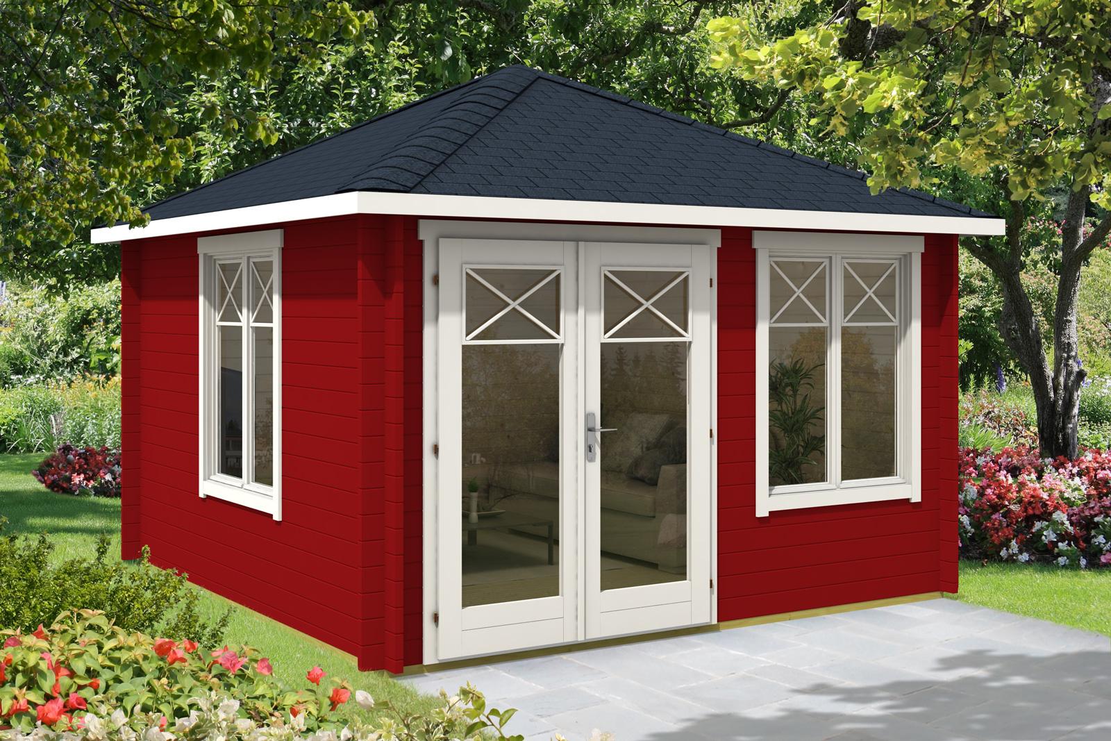 gartenhaus lillehus 40 iso. Black Bedroom Furniture Sets. Home Design Ideas