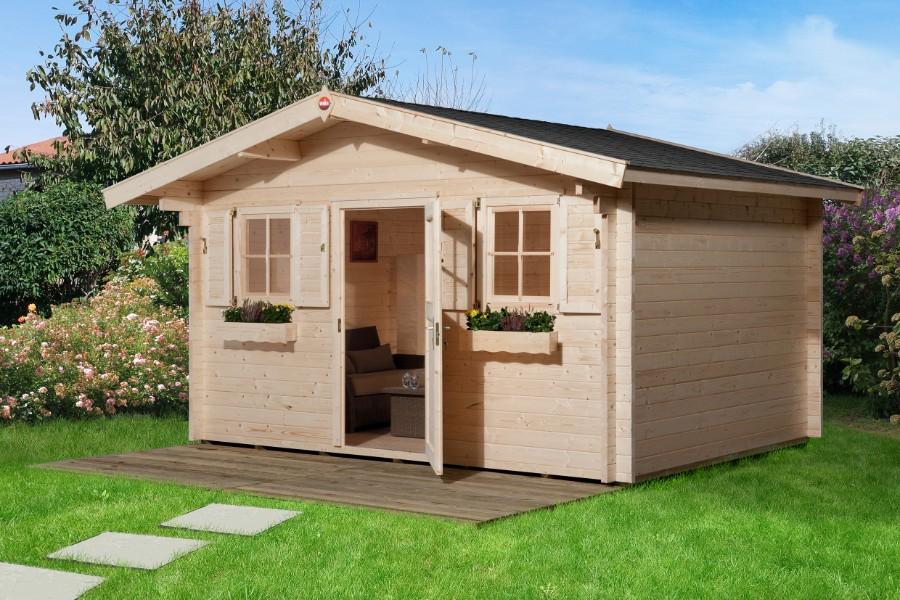weka gartenhaus 135 gr 2 45 mm. Black Bedroom Furniture Sets. Home Design Ideas
