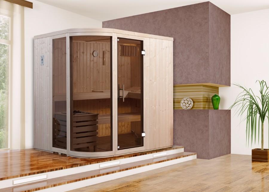 weka elementsauna sara. Black Bedroom Furniture Sets. Home Design Ideas