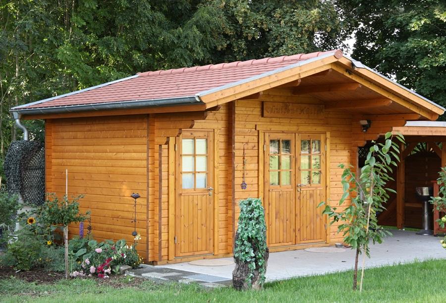 wolff gartenhaus caro 58 d klassik iso 858 170. Black Bedroom Furniture Sets. Home Design Ideas