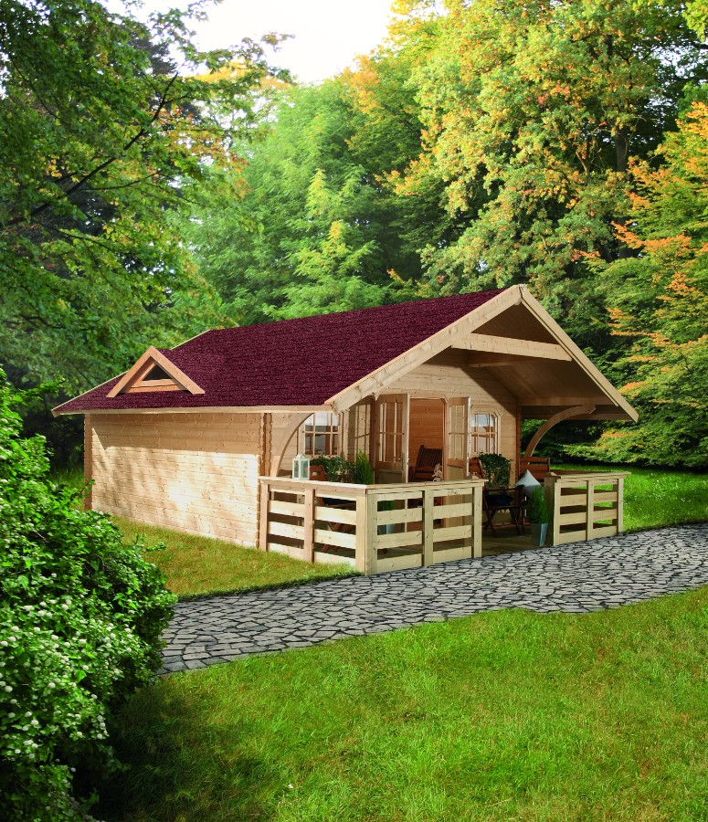 karibu gartenhaus pirion 6. Black Bedroom Furniture Sets. Home Design Ideas