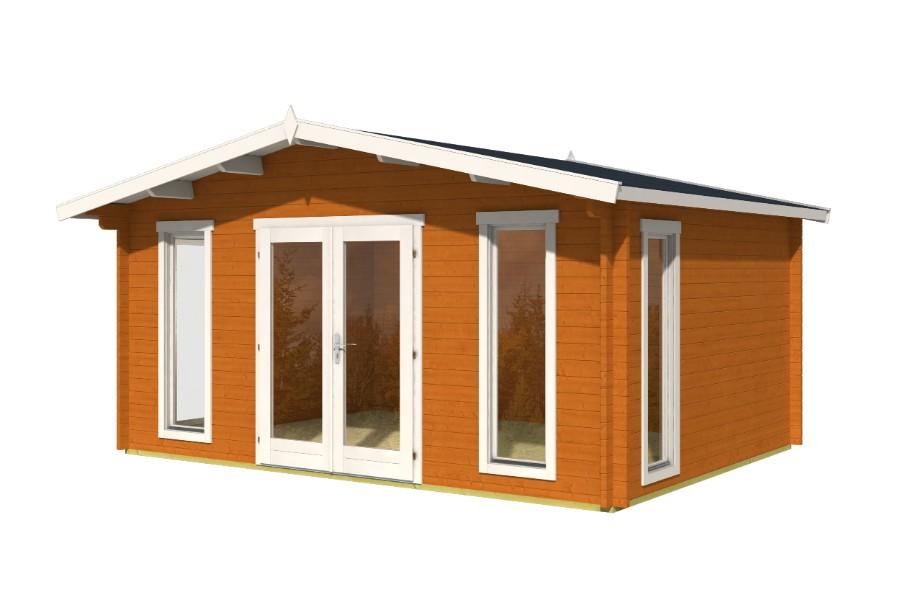 lasita maja gartenhaus elgin 44 iso 4415902. Black Bedroom Furniture Sets. Home Design Ideas