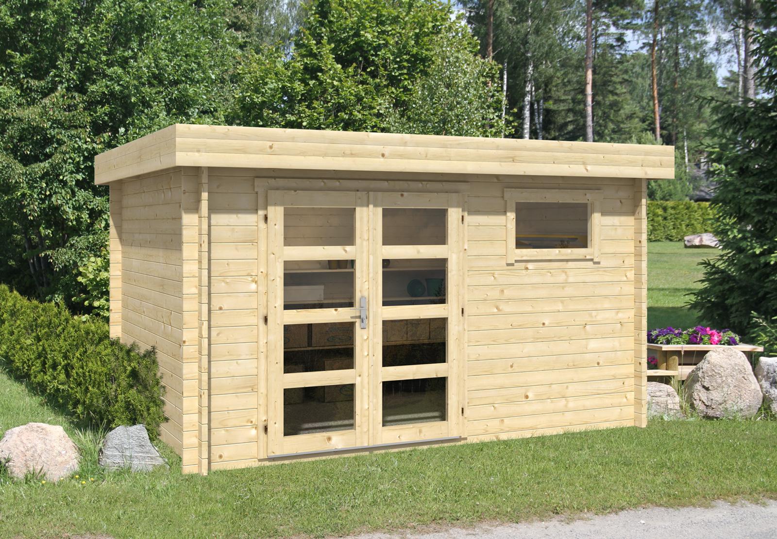 gartenhaus modell emma 40. Black Bedroom Furniture Sets. Home Design Ideas