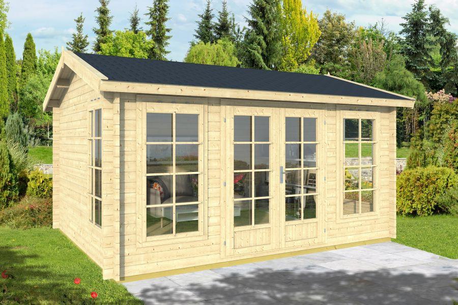 gartenhaus valencia 40. Black Bedroom Furniture Sets. Home Design Ideas
