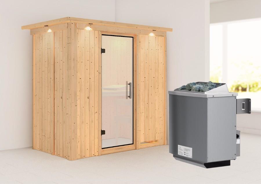 karibu sauna innenkabine variado. Black Bedroom Furniture Sets. Home Design Ideas