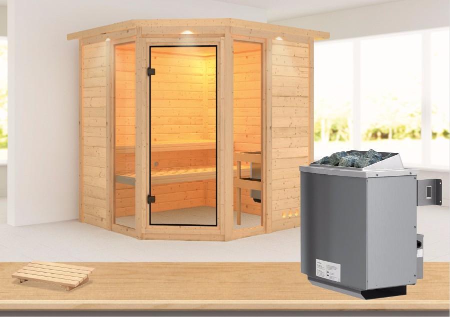 karibu sauna innenkabine sinai. Black Bedroom Furniture Sets. Home Design Ideas