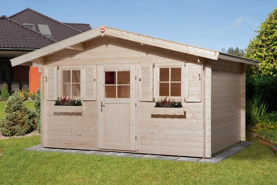 Weka gartenhaus 110 gr 1 28 mm - Gartenhaus 24 qm ...