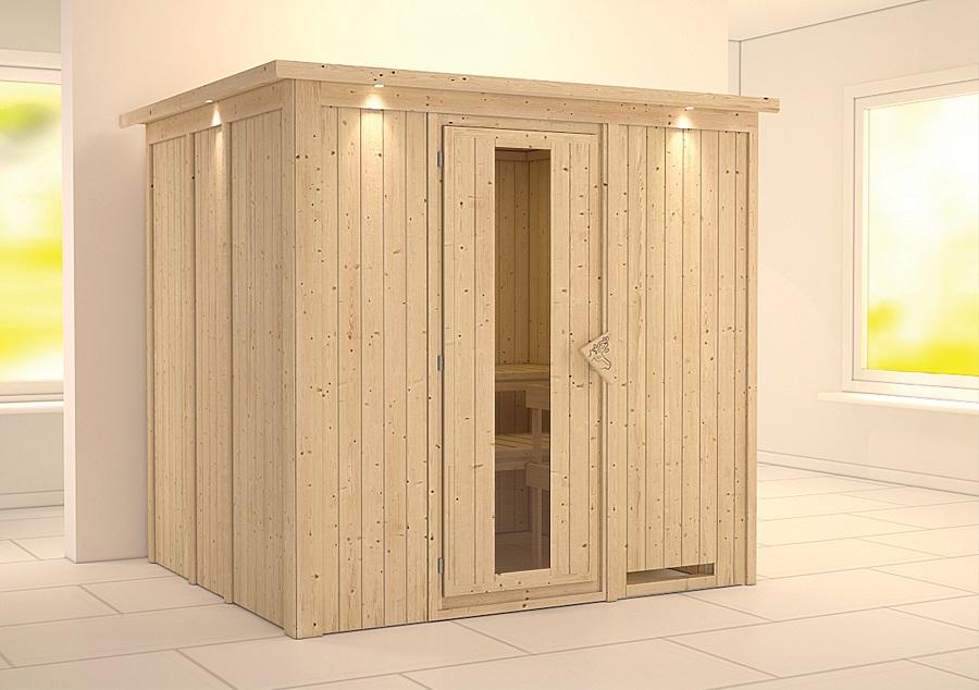 karibu sauna innenkabine sodin. Black Bedroom Furniture Sets. Home Design Ideas