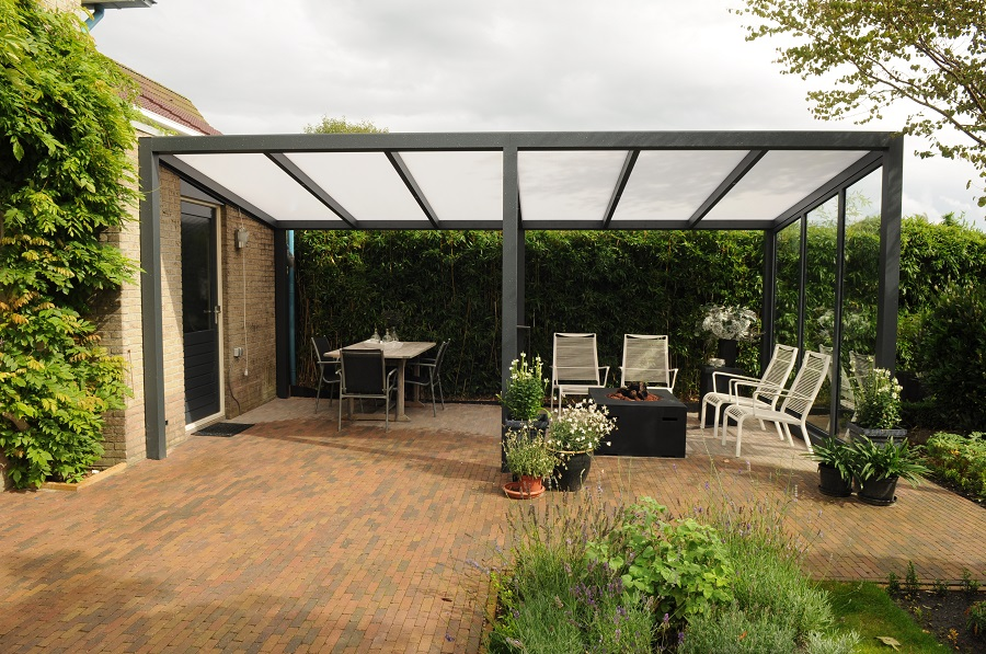 aluminium terrassen berdachung poly. Black Bedroom Furniture Sets. Home Design Ideas