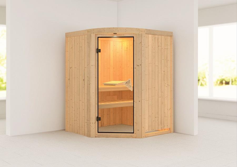 karibu sauna innenkabine asmada. Black Bedroom Furniture Sets. Home Design Ideas