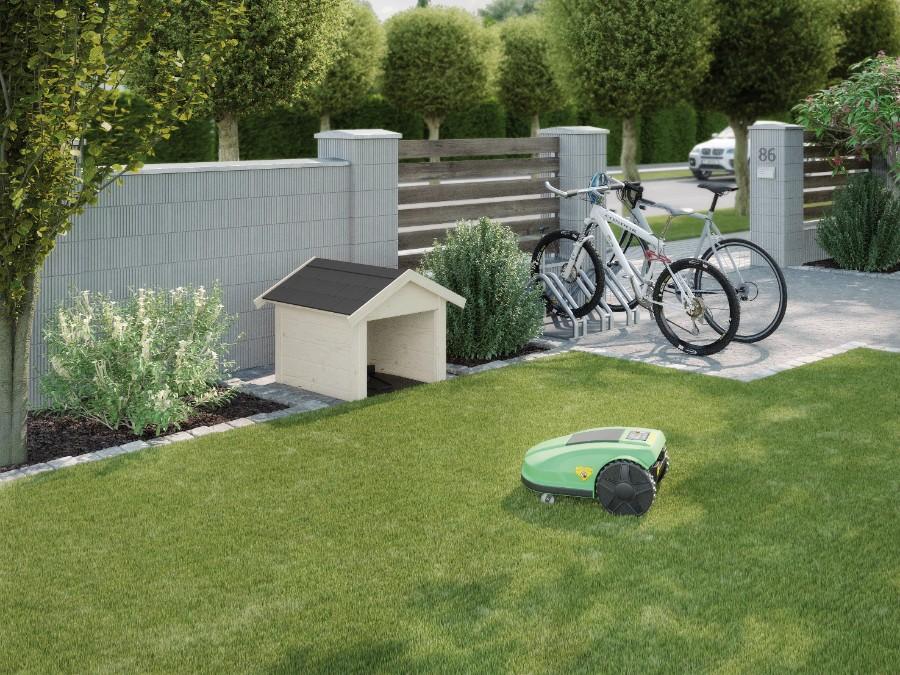 weka rasenroboter garage 367. Black Bedroom Furniture Sets. Home Design Ideas