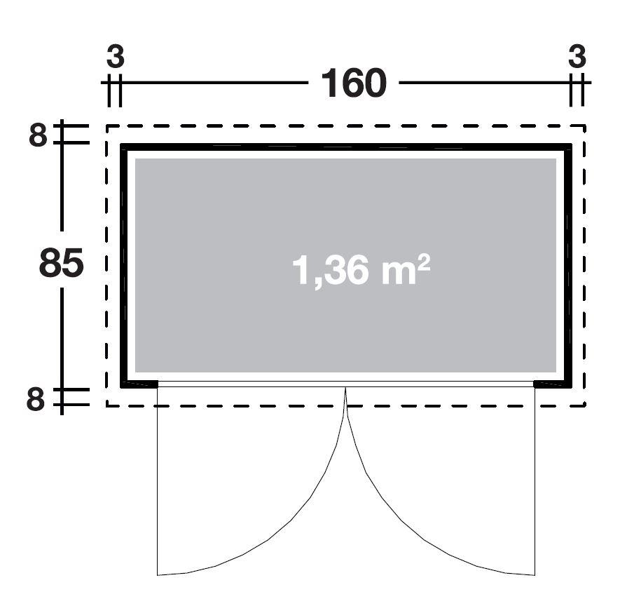 wolff finnhaus ger teschrank 20 b 714 210. Black Bedroom Furniture Sets. Home Design Ideas