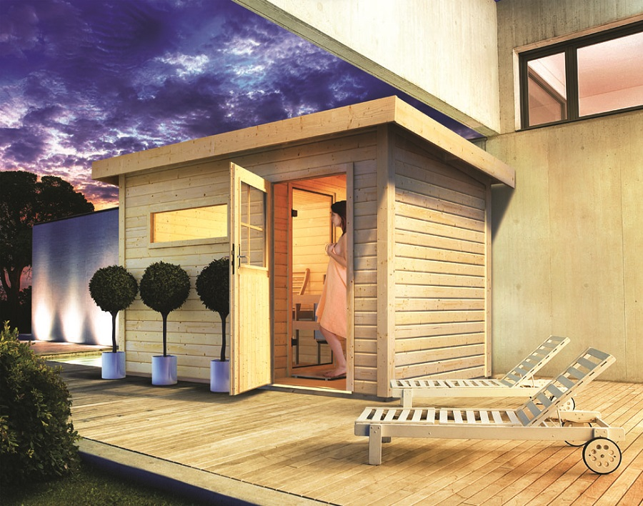 karibu saunahaus skrollan 1. Black Bedroom Furniture Sets. Home Design Ideas