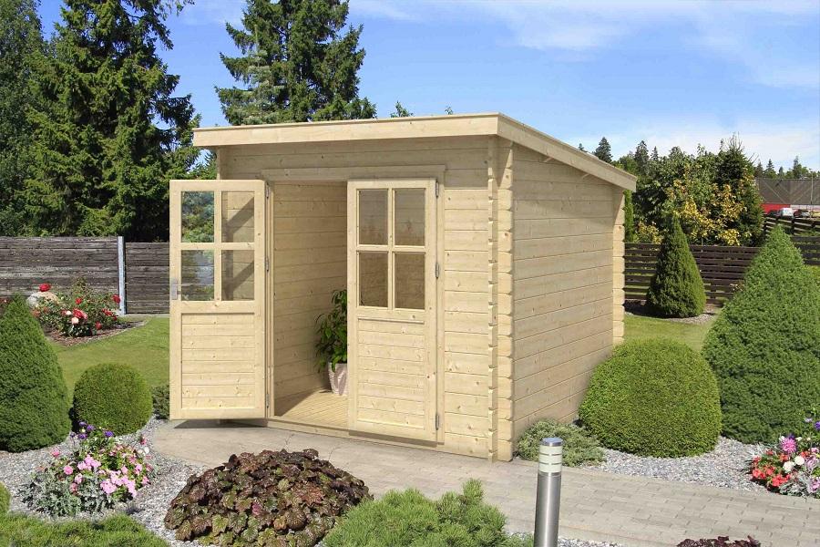 lasita maja gartenhaus indi 172 1002511. Black Bedroom Furniture Sets. Home Design Ideas