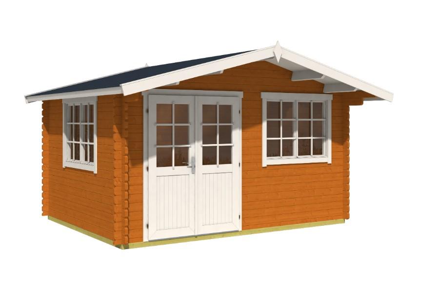 lasita maja gartenhaus norderney 2. Black Bedroom Furniture Sets. Home Design Ideas