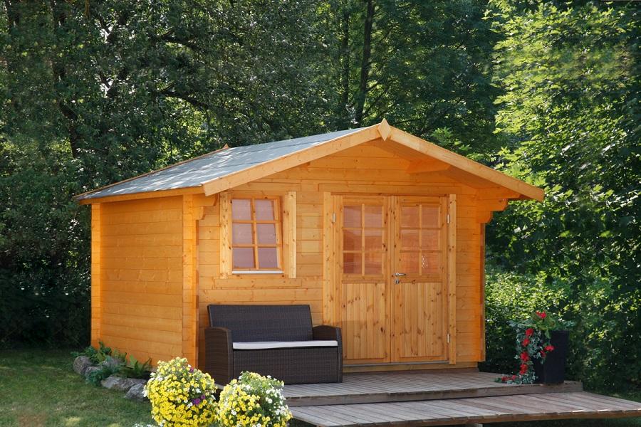 wolff gartenhaus oslo 34 g klassik 834 320. Black Bedroom Furniture Sets. Home Design Ideas