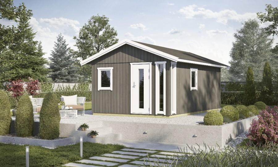 lasita maja gartenhaus nordic plus 19. Black Bedroom Furniture Sets. Home Design Ideas