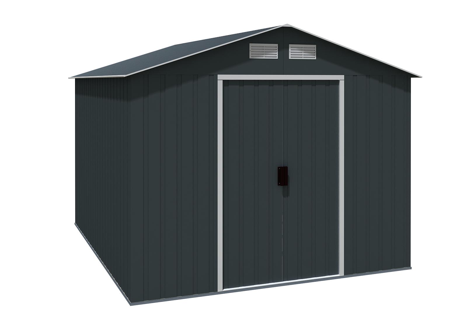 metallger tehaus titan 8x10 anthrazit 7245. Black Bedroom Furniture Sets. Home Design Ideas
