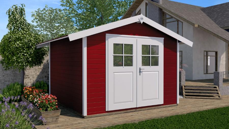 weka gartenhaus 122 gr 5. Black Bedroom Furniture Sets. Home Design Ideas