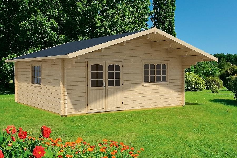lasita maja gartenhaus zanzibar 4 iso 700902. Black Bedroom Furniture Sets. Home Design Ideas