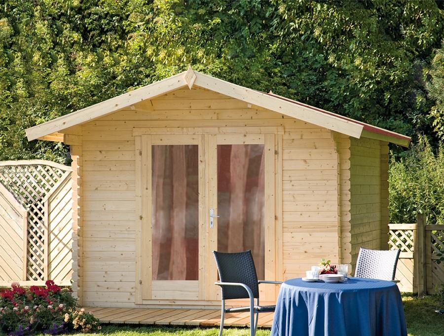 wolff finnhaus gartenhaus bergen b. Black Bedroom Furniture Sets. Home Design Ideas